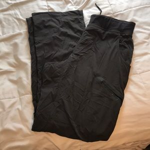 LULULEMON GREY SWEAT PANTS XL